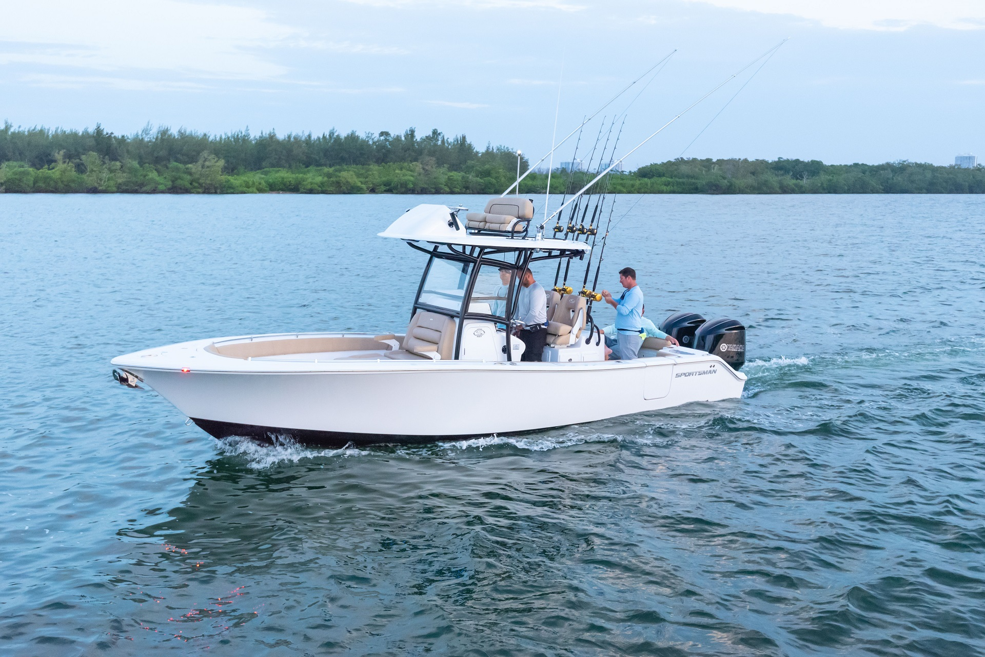 Blue Water Boats >> Sportsman Backwater 2 Bluewater St Augustine Florida